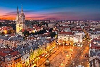 Ban-Jelacic-Platz Zagreb