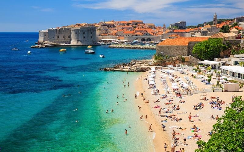 Banje Strand Dubrovnik