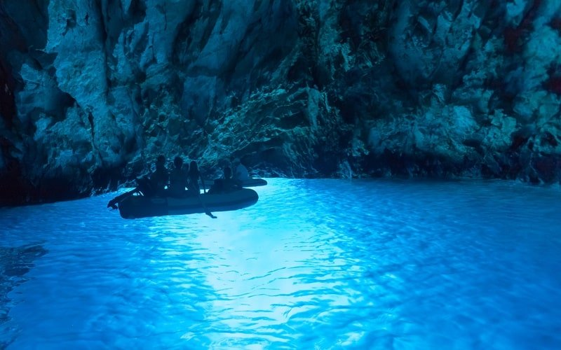 Blaue Grotte Bisevo