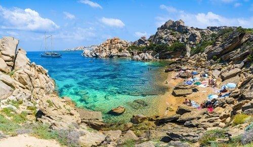 Cala Spinosa Sardinien