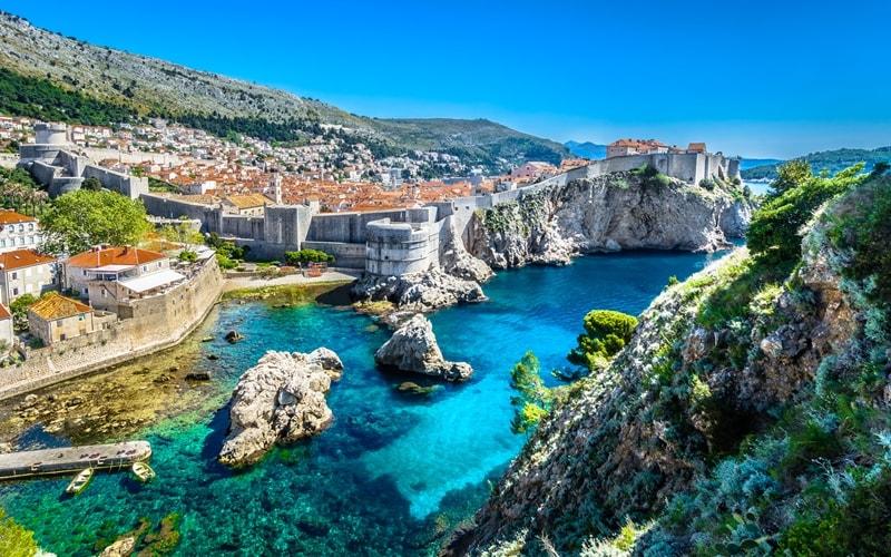 Hafenstadt in Kroatien