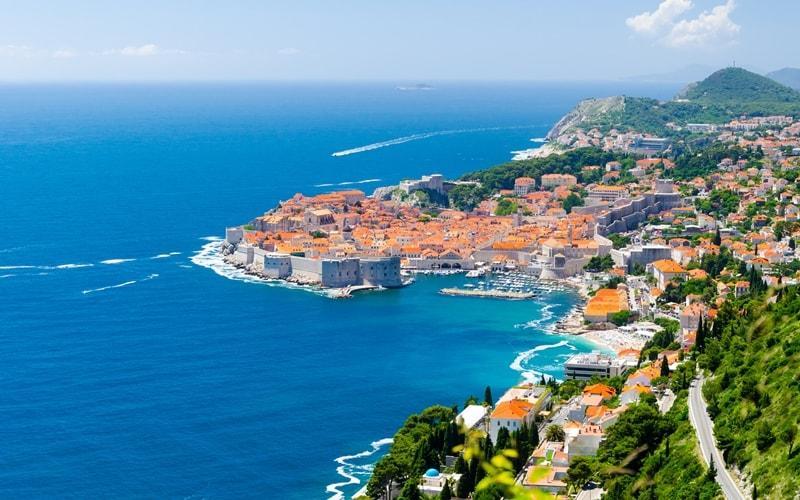 Hauptstadt von Dalmatien
