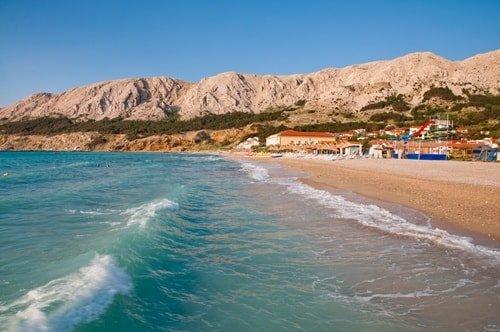 Kroatien Sandstrände Baska Krk