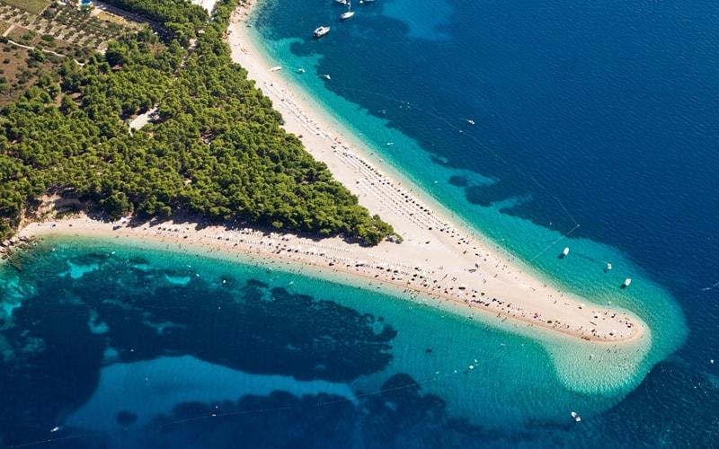 Kroatien Sandstrand Bol