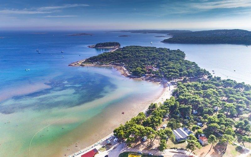 Kroatien Sandstrand Istrien Medulin