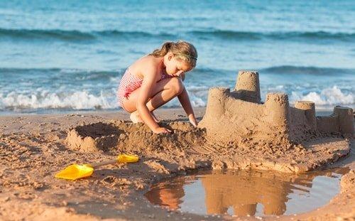 Kroatien Sandstrand Medulin