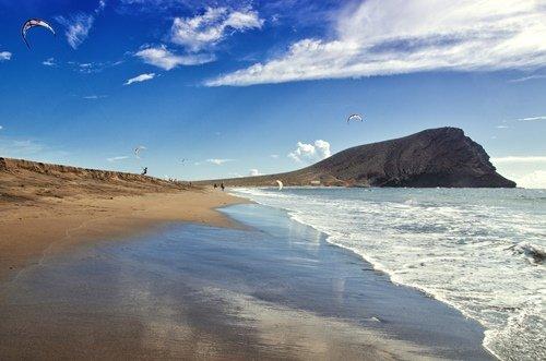 Playa de la Tejita Teneriffa