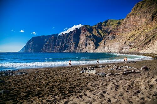 Playa de los Guíos Teneriffa
