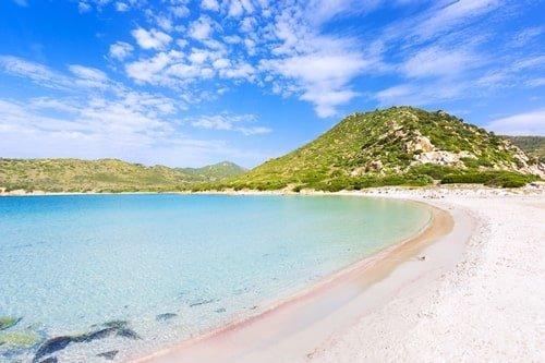 Punta Molentis Sardinien