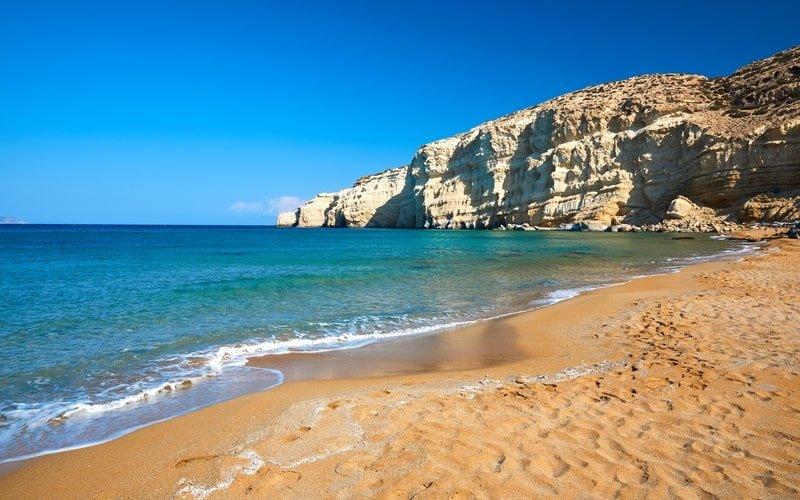 Red Beach auf Kreta