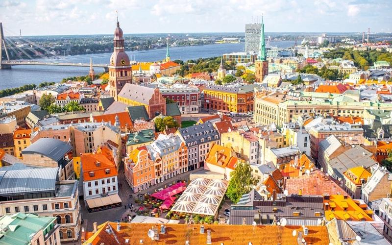 Hauptstadt von Lettland