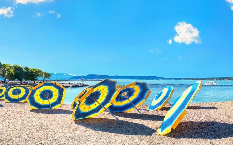 Sandstrände Kroatien Crni Molo