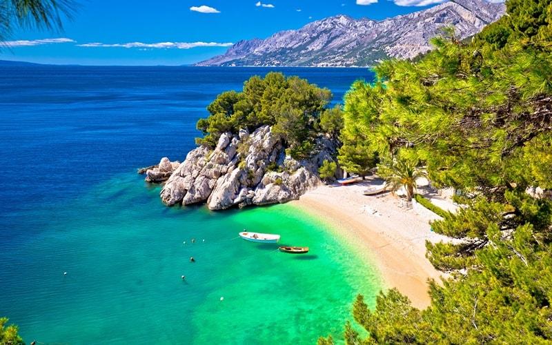 Sandstrand Kroatien Punta Rata