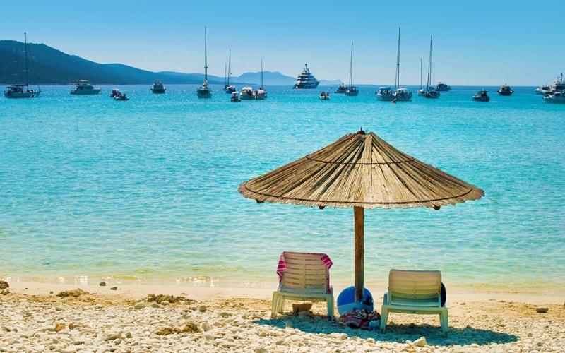 Sandstrand Kroatien Sakarun Dugi Otok