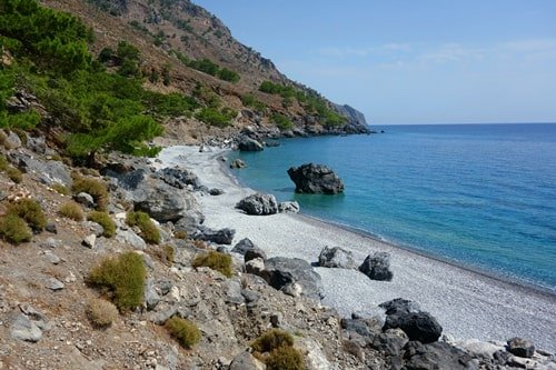 Sougia Strand Kreta