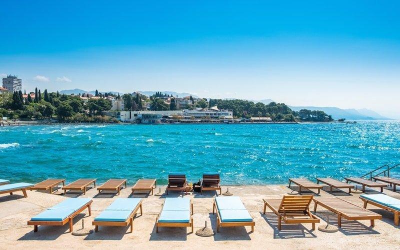 Strand Kroatien Split Bacvice
