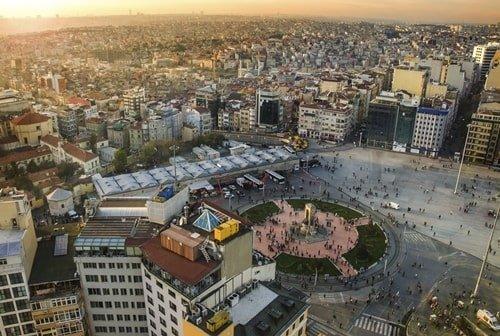Taksim Platz Istanbul