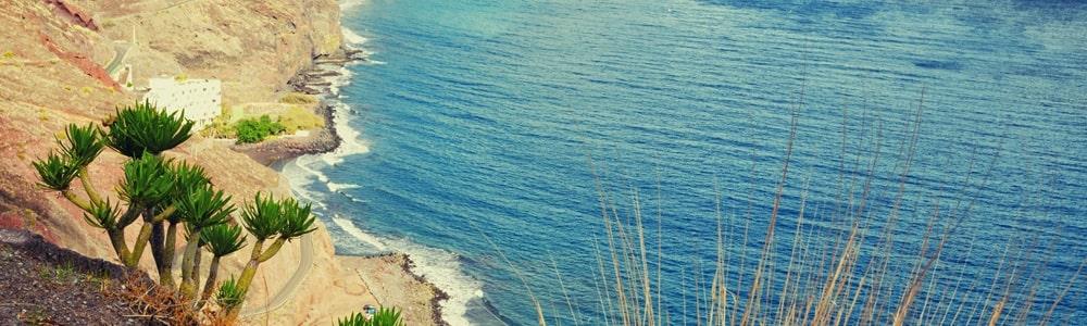 Teneriffa Strände Playa de las Gaviotas