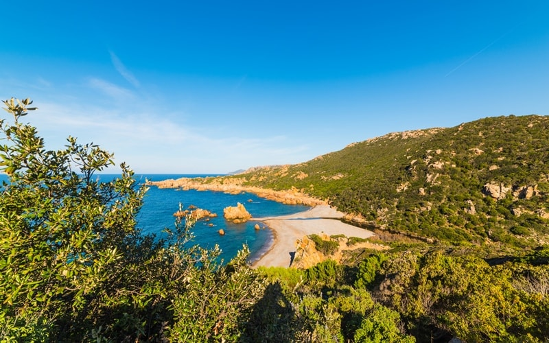 Cala Tinnari auf Sardinien