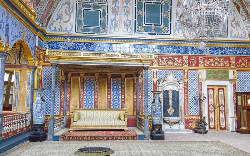 Innenansicht Topkapi Palast