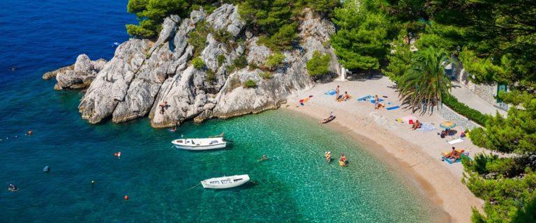 Urlaub Kroatien Sandstrand