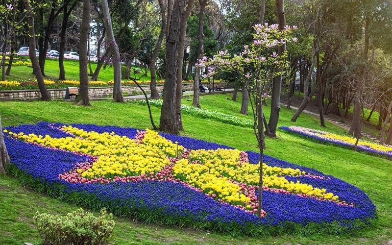 Stadtpark in Istanbul