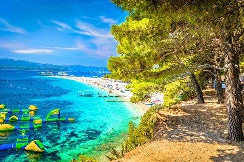 weisser Sandstrand Kroatien Goldenes Horn