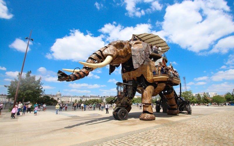 Nantes Frankreich