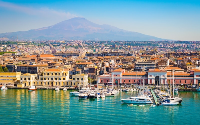 Sehenswürdigkeiten Catania
