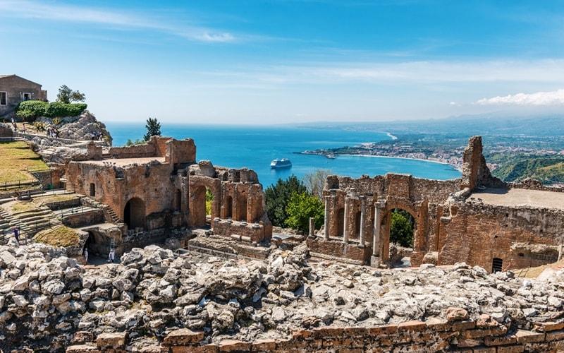 Sehenswürdigkeiten Taormina