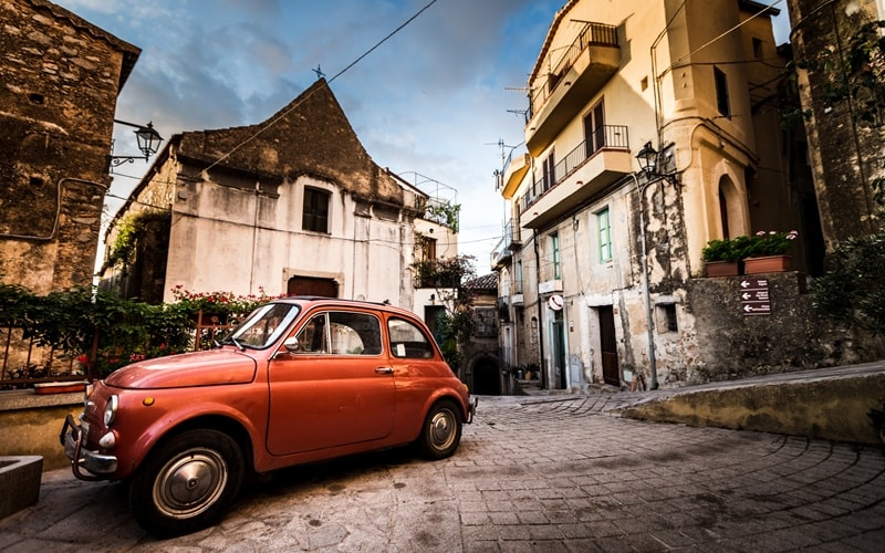 Sizilien Rundreise Auto