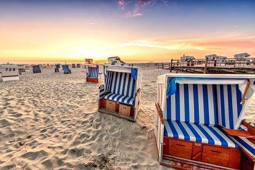 Strandkorb Sankt Peter-Ording