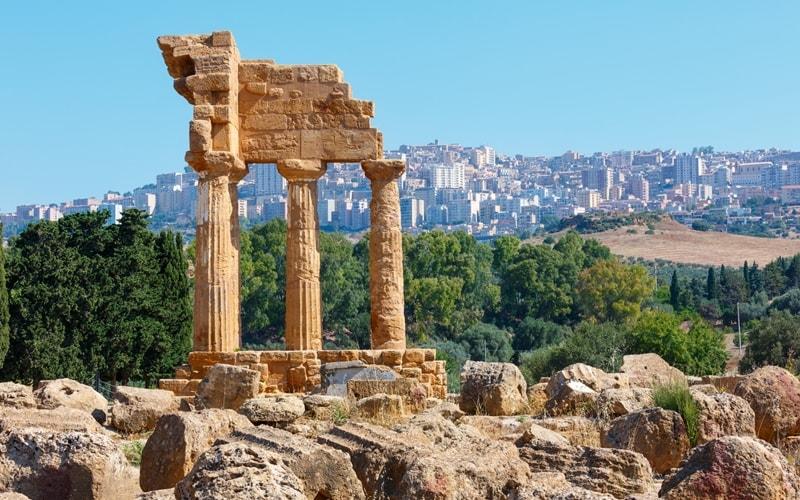 Tal der Tempel Agrigent