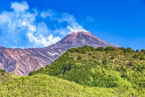 Vulkan Ätna Sizilien