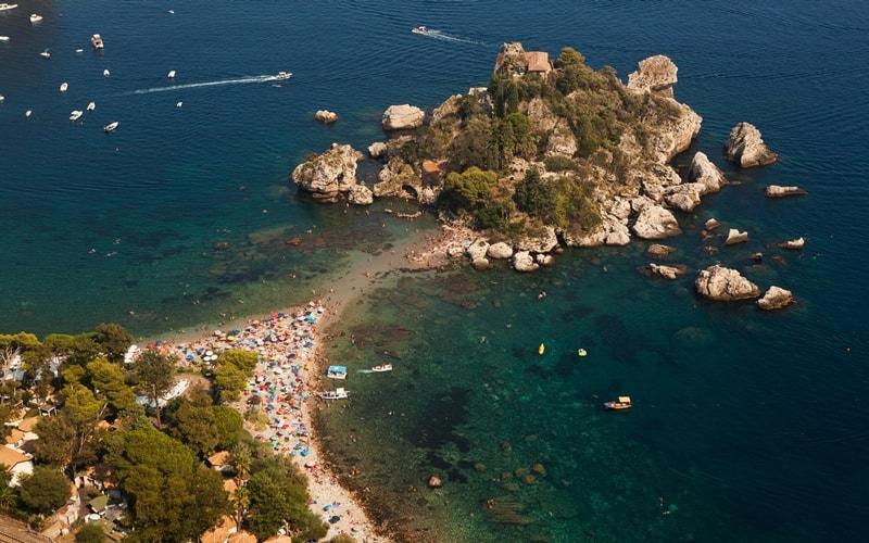strand isola bella
