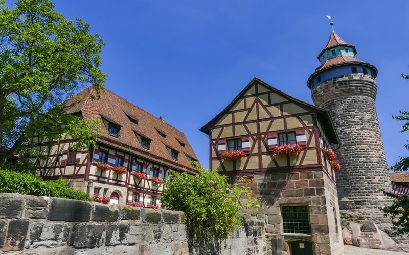 Kaiserburg in Nürnberg