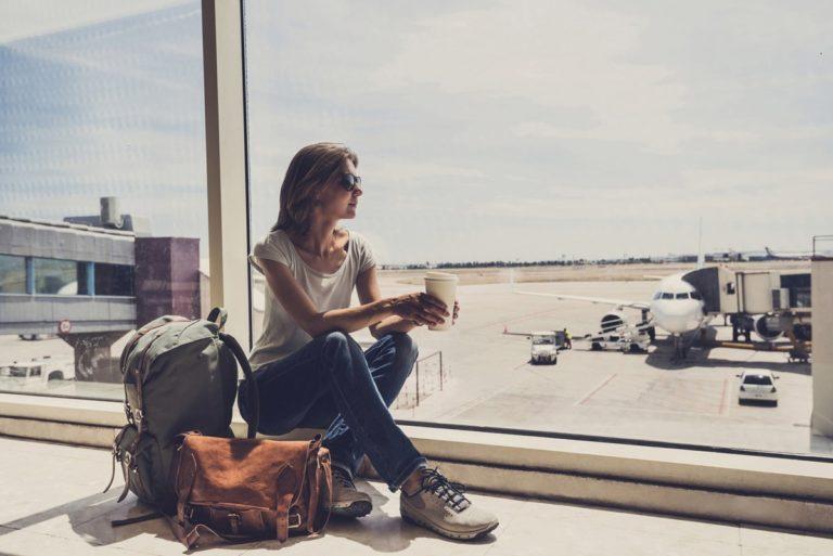 Verhalten am Flughafen