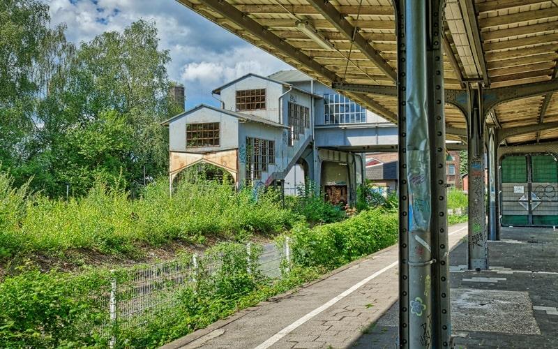Verlassener Hauptbahnhof Solingen