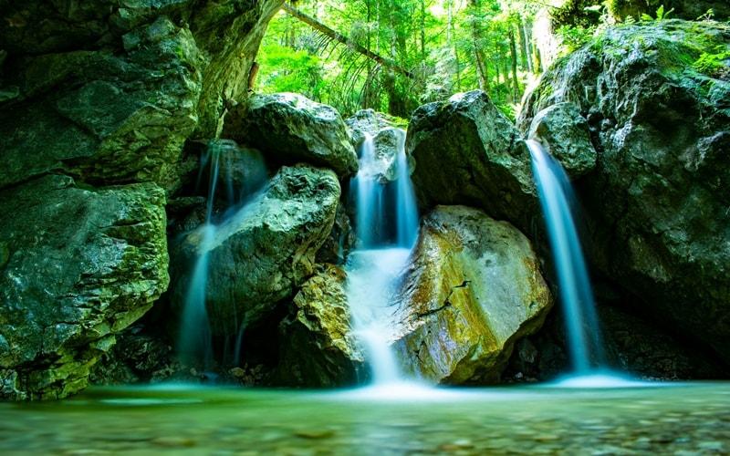 Wasserfälle in Bayern