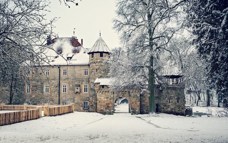 Wasserschloss Untersiemau Bayern