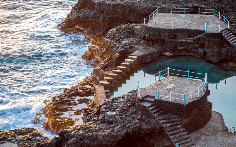 Charco Azul: Die Meerwasserpools auf La Palma