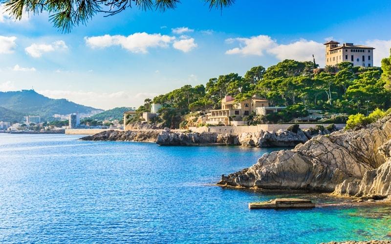 Mallorca leere Strände