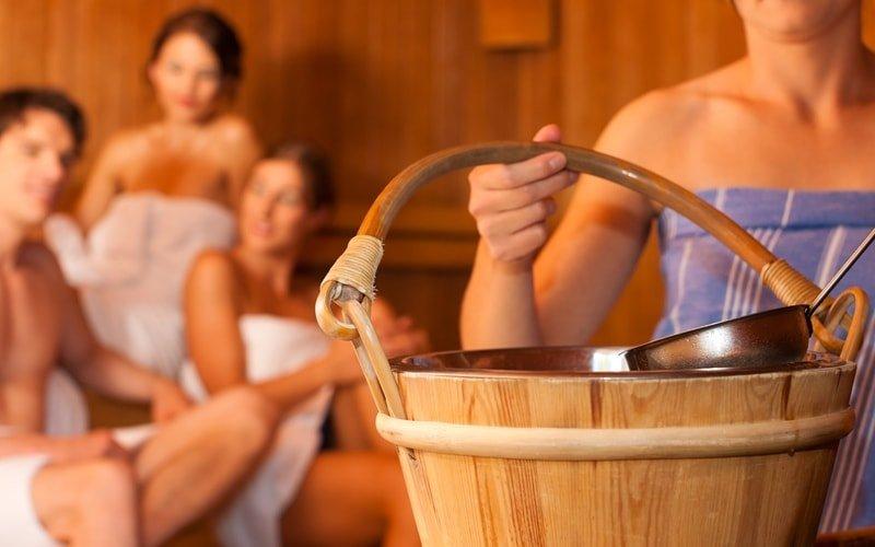 Aufguss Sauna am Pichelssee