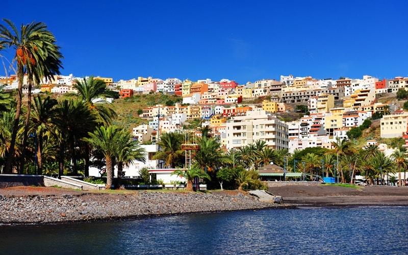 Playa de San Sebastian de La Gomera