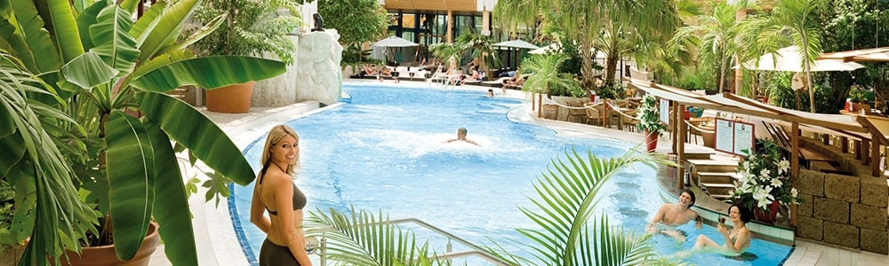 Therme Erding Vitalpool in der Vitaloase