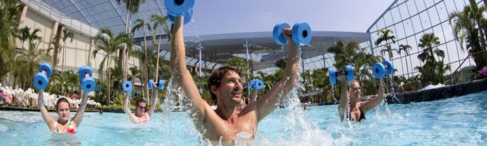 Thermen & Badewelt Sinsheim kostenlose Wassergymnastik-min
