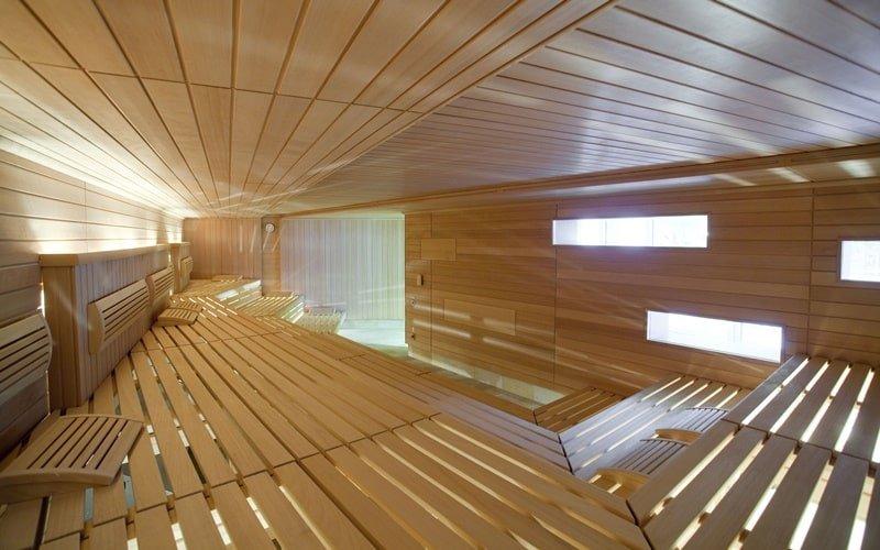 Entspannungs-Sauna im Bereich der Winzer-Sauna im LEUZE