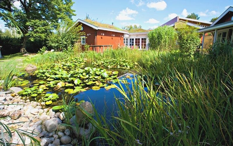 MidSommerland Saunagarten © Bäderland Hamburg