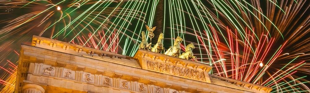 Silvester Brandenburger Tor