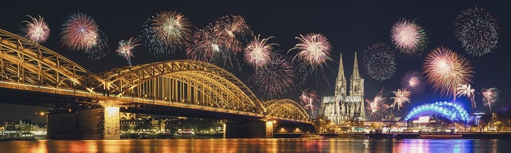 Feuerwerk Silvester Köln